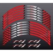 Kit Adesivo Friso Refletivo Roda Moto Yamaha FZ1 Fri25