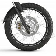 Kit Adesivo Friso Refletivo Roda Moto Yamaha Xtx Fri33