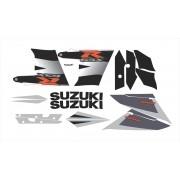 Kit Adesivo Suzuki Gsxr 1000 2004 Preta E Prata 10004cp