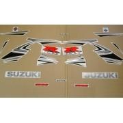 Kit Adesivo Suzuki Gsxr 1000 2007 Amarela E Prata
