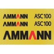 Kit Adesivos Ammann Asc 100 Asc100
