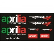 Kit Adesivos Aprilia Rsv4 Italia Decalx