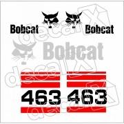 Kit Adesivos Bobcat 463 Decalx