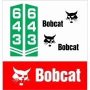 Kit Adesivos Bobcat 643 Decalx