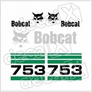 Kit Adesivos Bobcat 753 Decalx