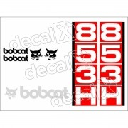 Kit Adesivos Bobcat 853h Decalx
