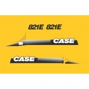 Kit Adesivos Case 821e - Decalx