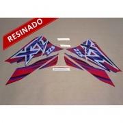 Kit Adesivos Xt225 1997 Preta Resinado