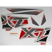 Kit Adesivos Xt225 1999 Vermelha Resinado