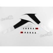 Kit Adesivos Xt 660r 2013 Branca Resinado