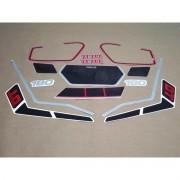 Kit Adesivos Yamaha Dtn180 1987 Vermelha