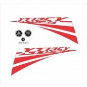 Kit Adesivos Yamaha Xt 125x 2007 Branca Xtbr01