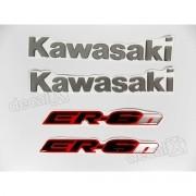 Kit Emblema Adesivo Resinado Kawasaki Er-6n re43