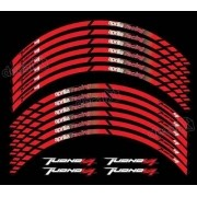 Kit Adesivo Friso Refletivo Roda Moto Aprilia Fri05 - Decalx