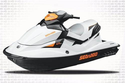 Kit Adesivo Jet Ski Sea Doo Gti 130 Sd18