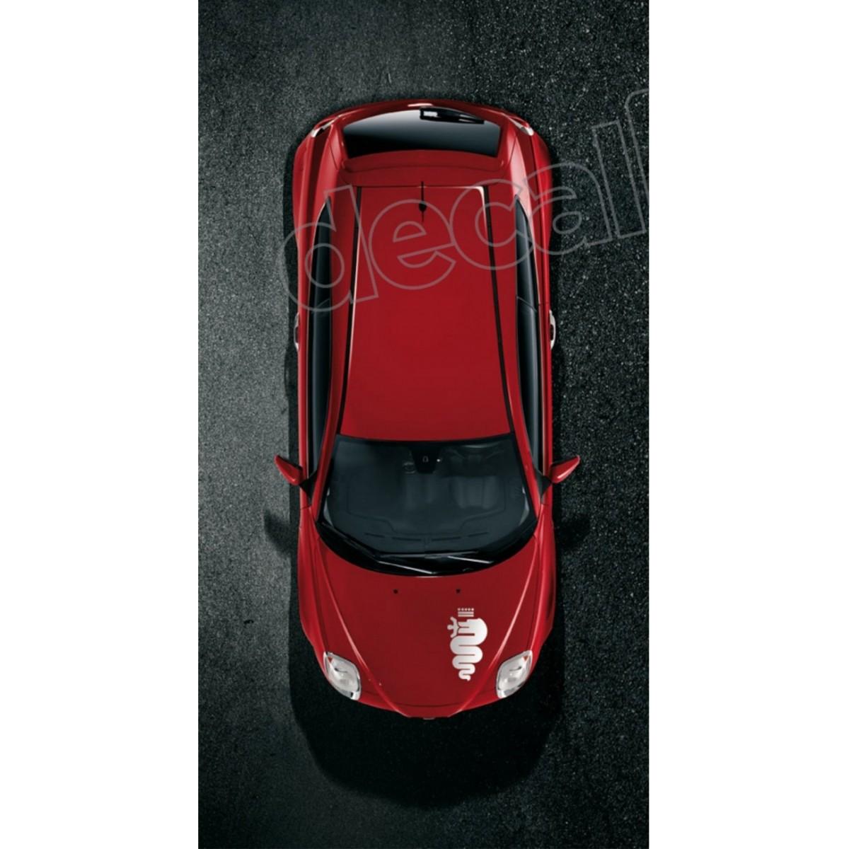 Adesivo Alfa Romeo Faixa Capo 3m Ct02