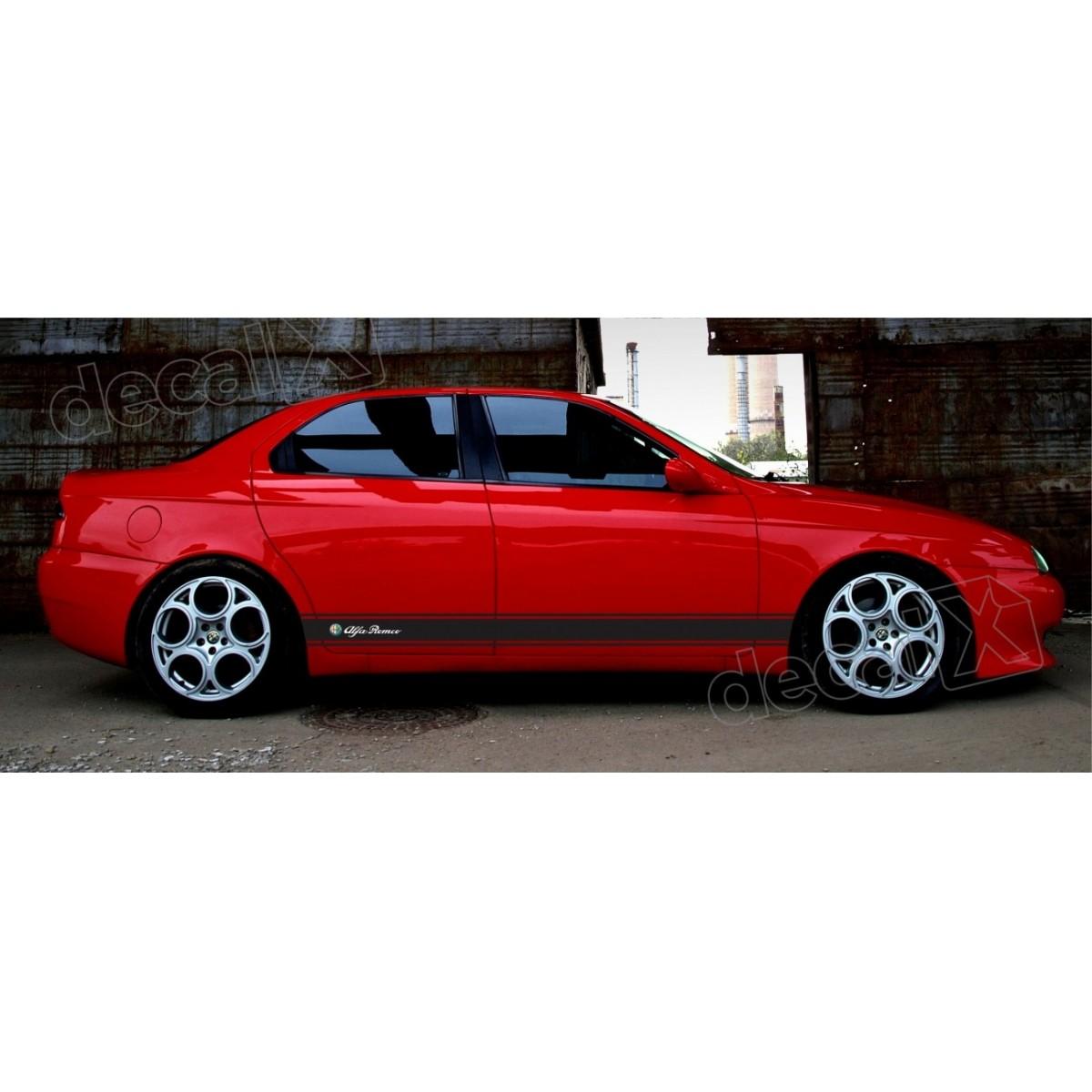 Adesivo Alfa Romeo Faixa Lateral 3m 1561