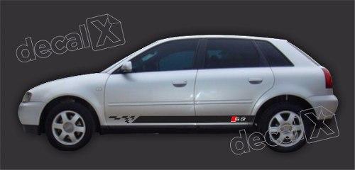 Adesivo Audi A3 Lateral A42