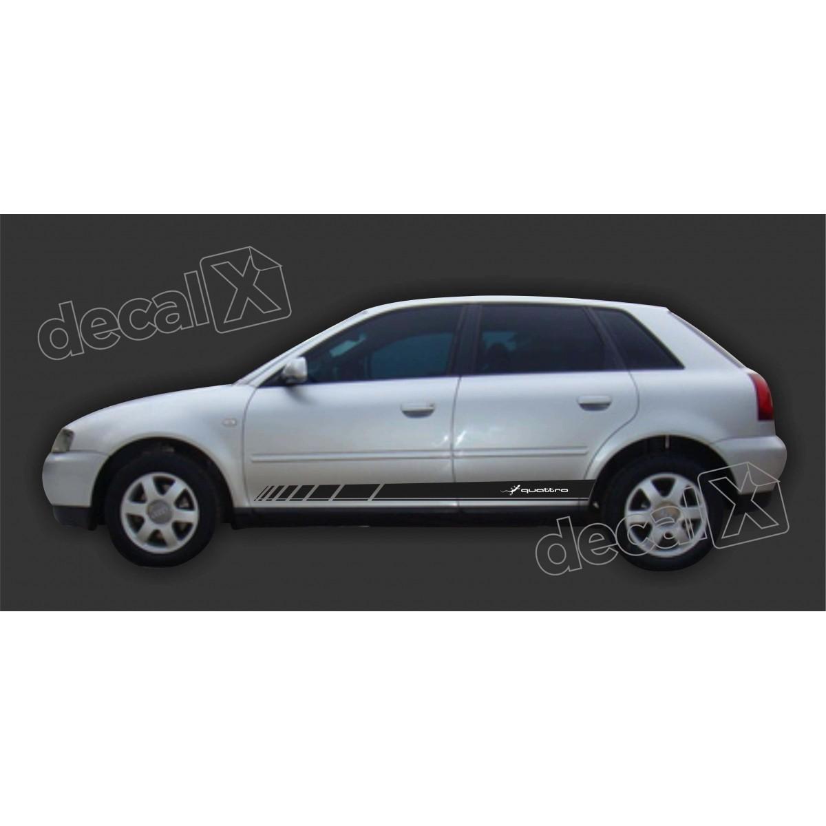 Adesivo Audi A3 Lateral A50