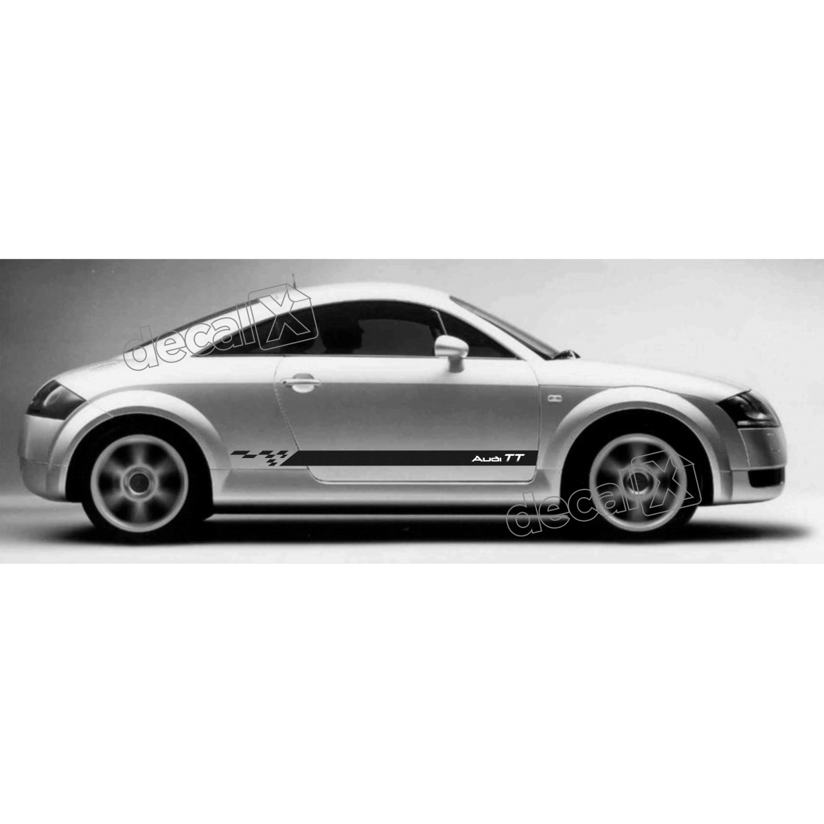 Adesivo Audi Tt Lateral Tt10
