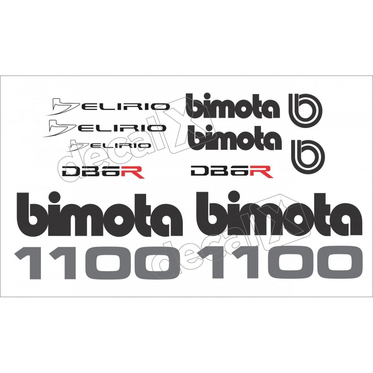 Adesivo Bimota Delirio Db6r Decalx