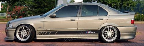 Adesivo Bmw Faixa Lateral Serie 3 Power Bw31