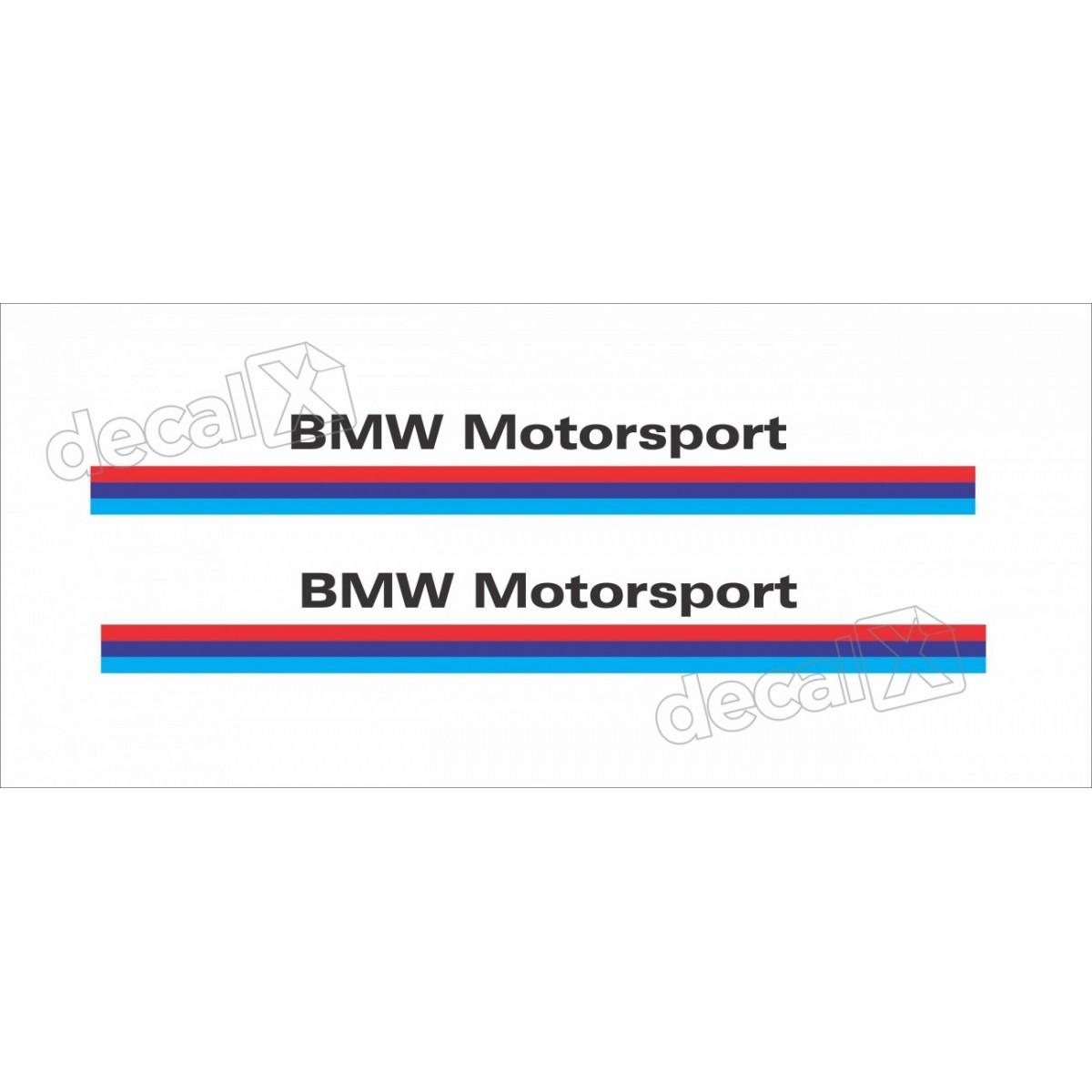 Adesivo Bmw Motorsport Retrovisor Decalx