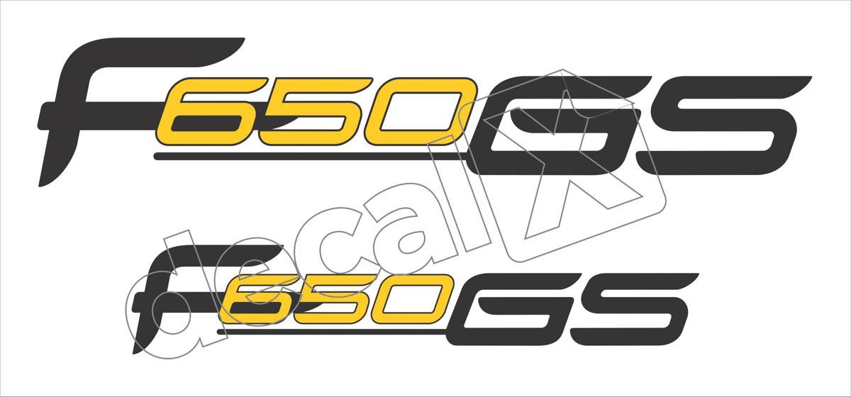 Emblema Adesivo Bmw F650gs Par Decalx