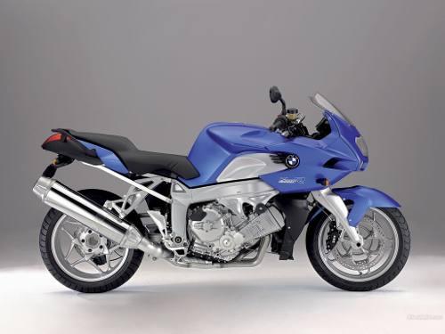 Emblema Adesivo Bmw K1200r Sport Azul Par Decalx
