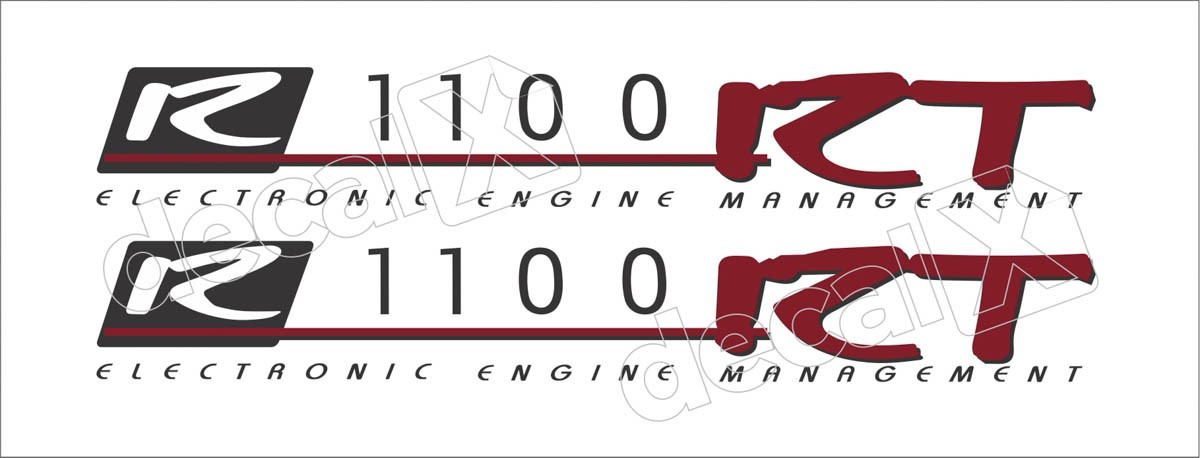 Emblema Adesivo Bmw R1100rt Par Decalx