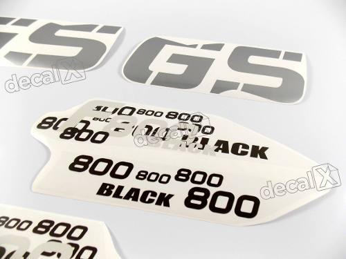 Kit Adesivos Bmw F800gs Triple Black Decalx