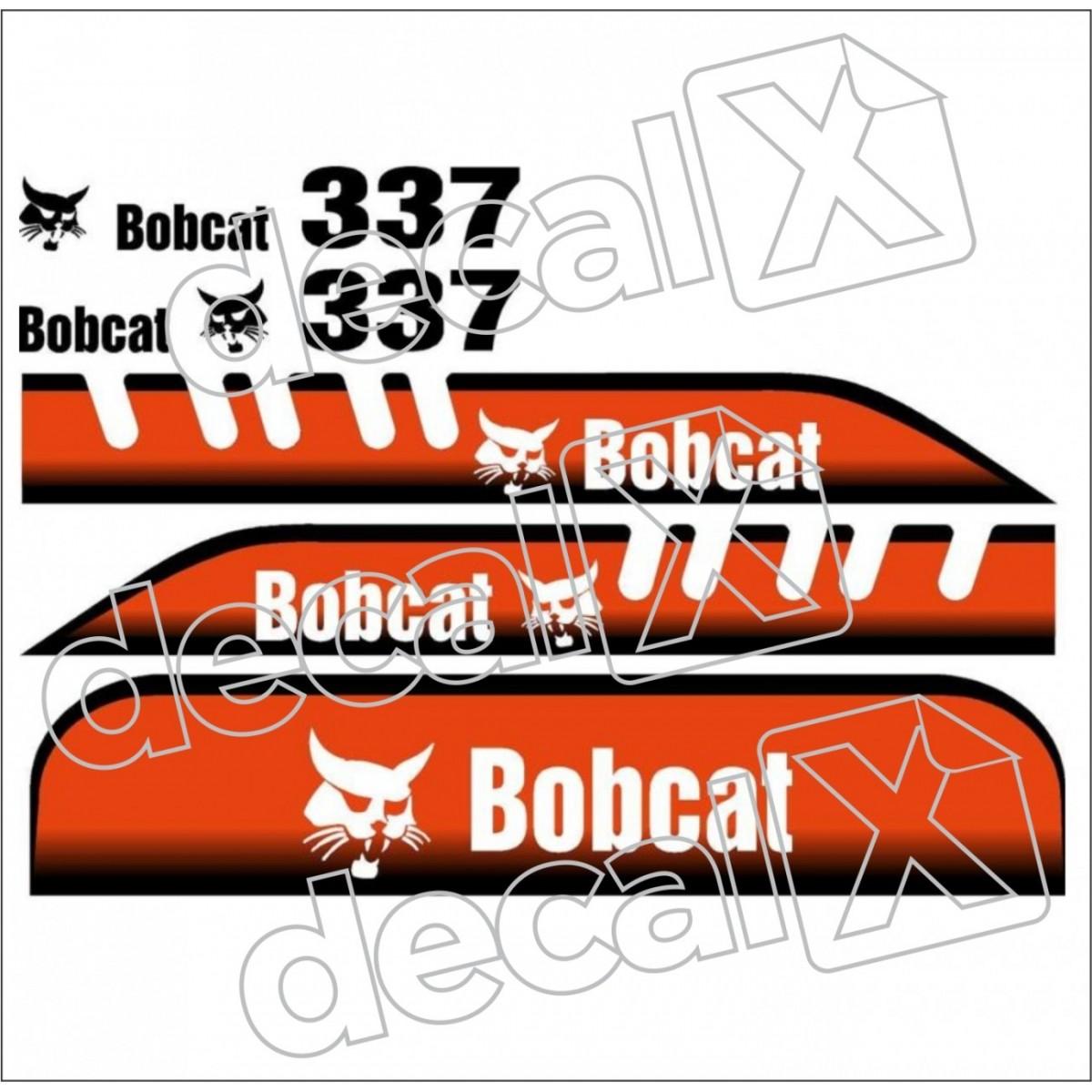 Kit Adesivos Bobcat 337 Decalx