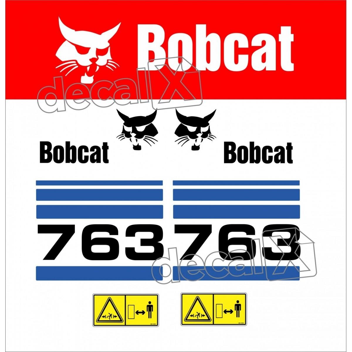 Kit Adesivos Bobcat 763 Decalx
