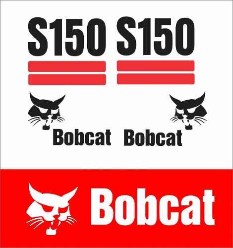 Kit Adesivos Bobcat S150 As150 Decalx