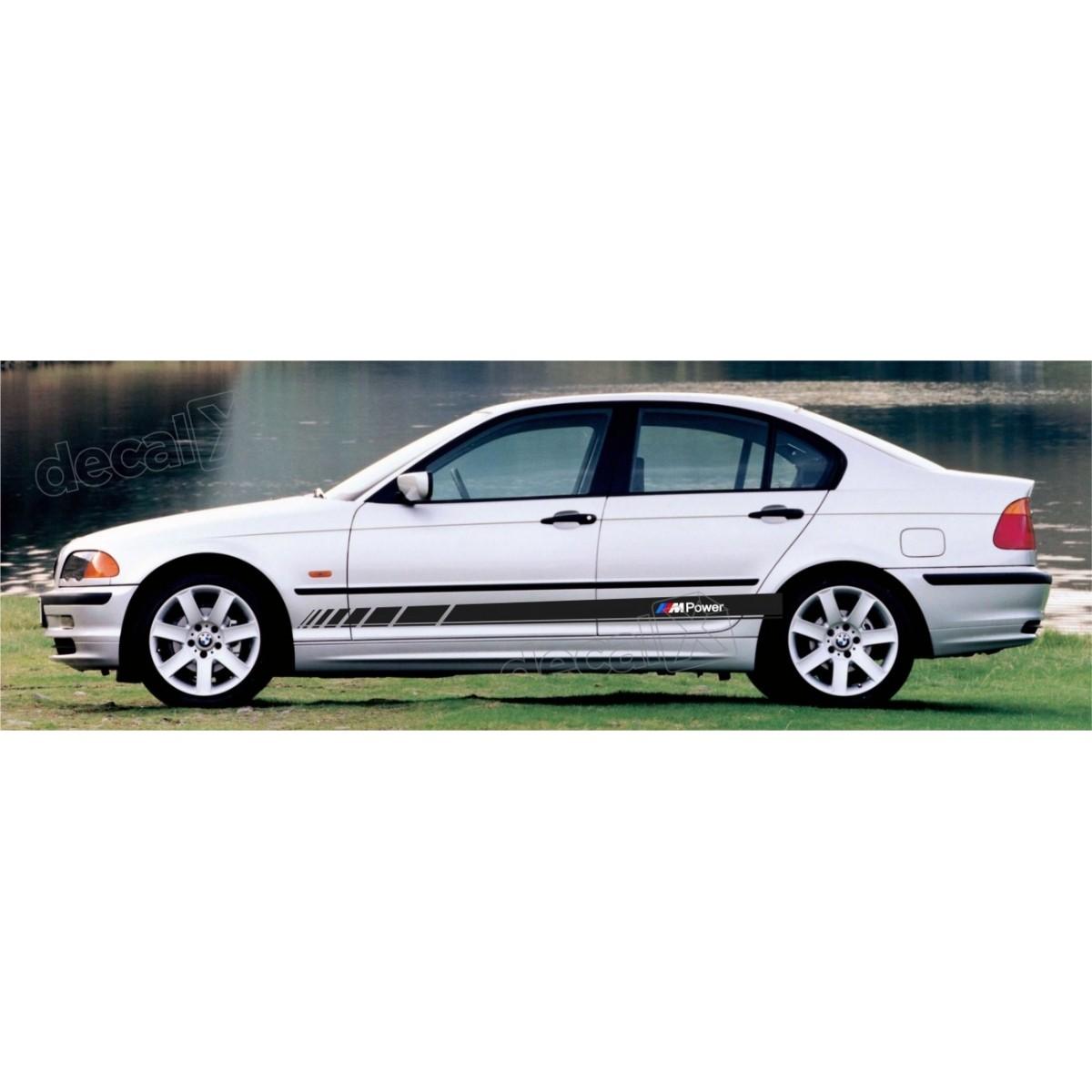 KIT FAIXAS LATERAIS BMW SERIE 3 POWER BW32