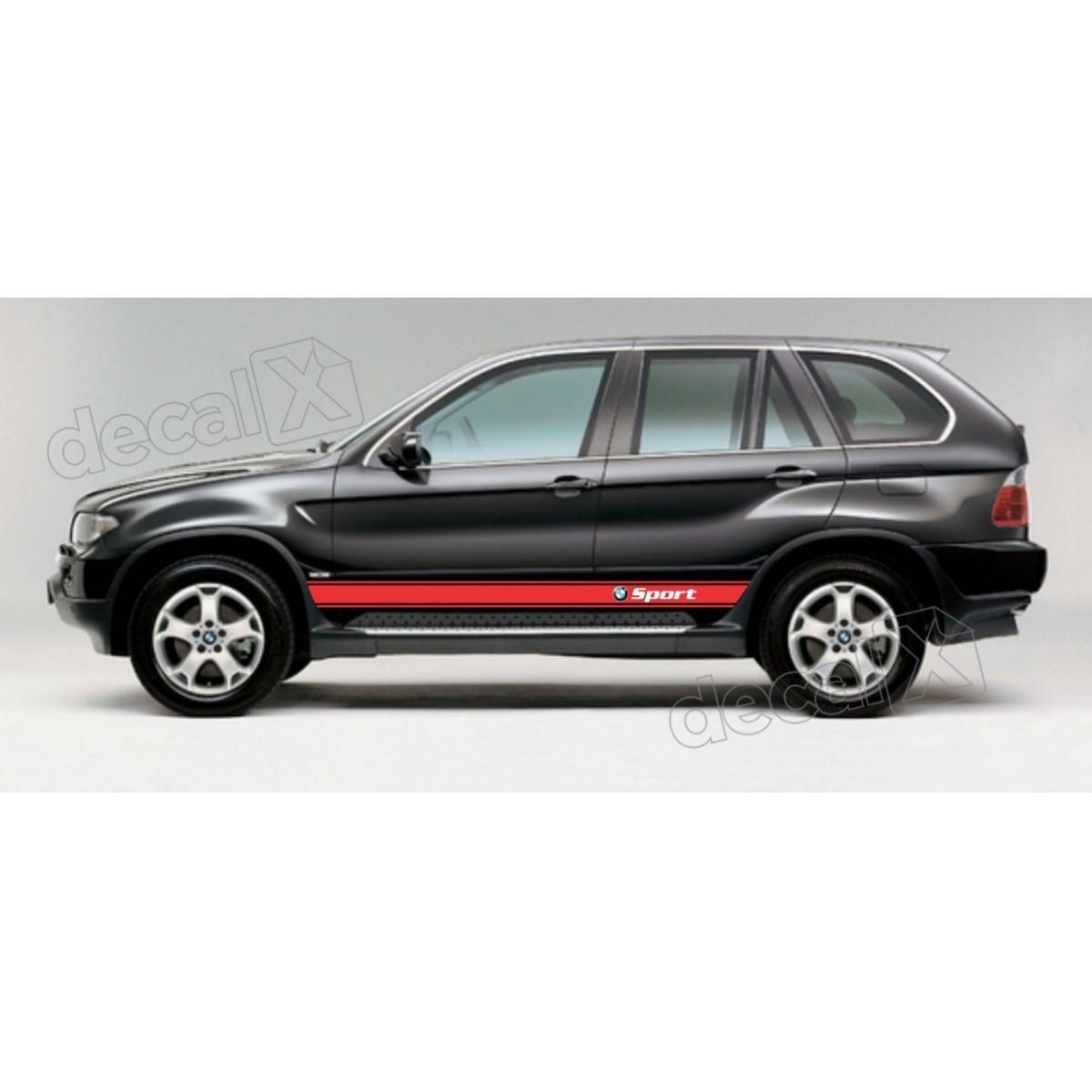 KIT FAIXAS LATERAIS BMW X5 SPORT X56