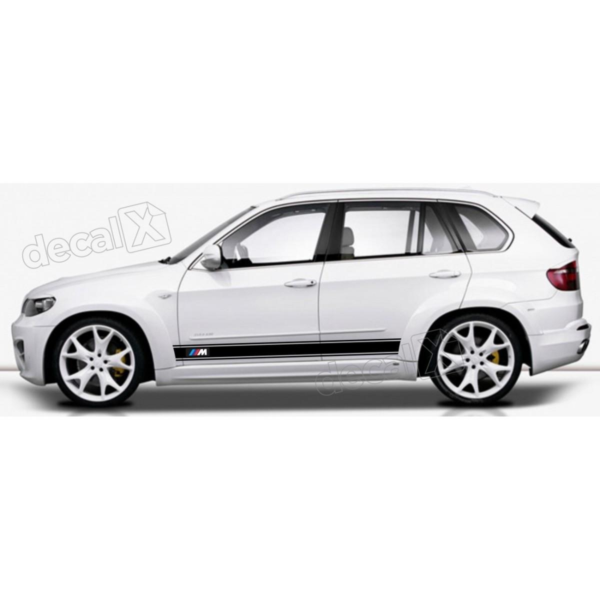 KIT FAIXAS LATERAIS BMW X5 X53