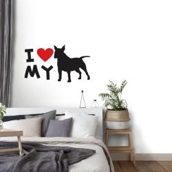 Adesivo de Parede Bull Terrier