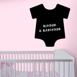 Adesivo de Parede Lousa Body Bebê