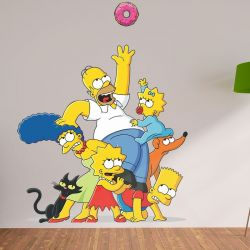 Adesivo de Parede The Simpsons