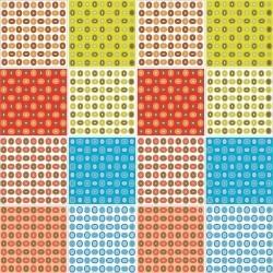 Adesivo para Azulejo Circular