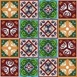 Adesivo para Azulejo Rosacea