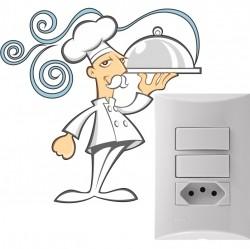 Adesivo para Interruptor Chef