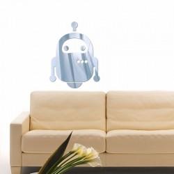 Espelho Decorativo Robô