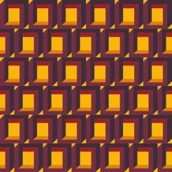 Papel de Parede Cubo Ilusionista