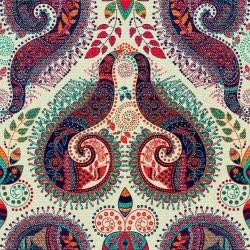 Papel de Parede Floral paisley