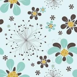 Papel de Parede Floral Roga