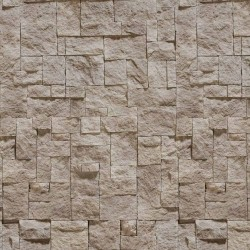 Papel de Parede Pedras Bege