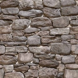 Papel de Parede Pedras fundo branco 9