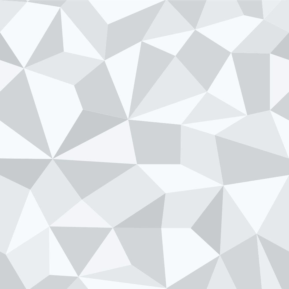 Papel de Parede Gray Polygonal